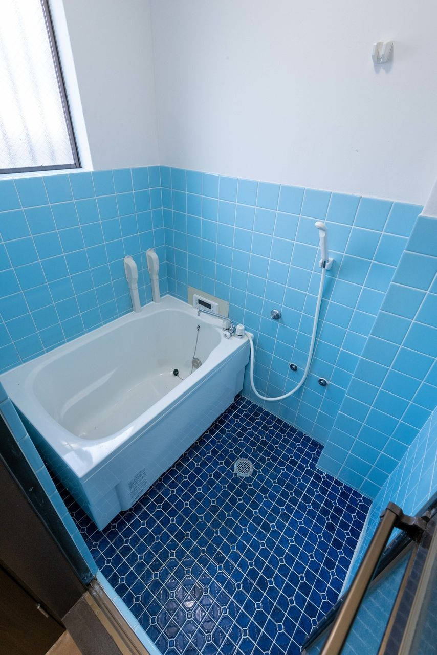 浴槽・給湯設備も新品
