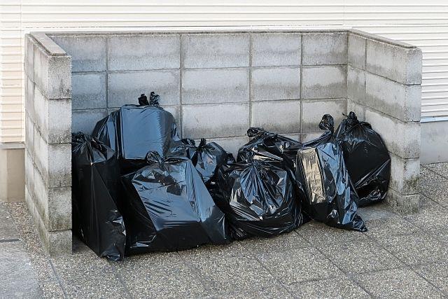 大きなゴミ置場のほうが管理しやすい?