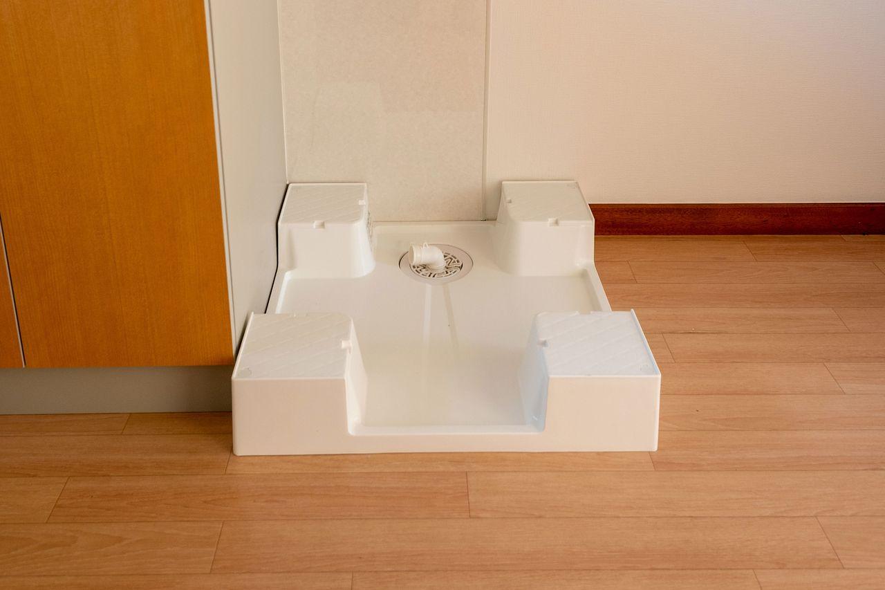 洗濯機置場を室外から室内へ | コーポユミ202