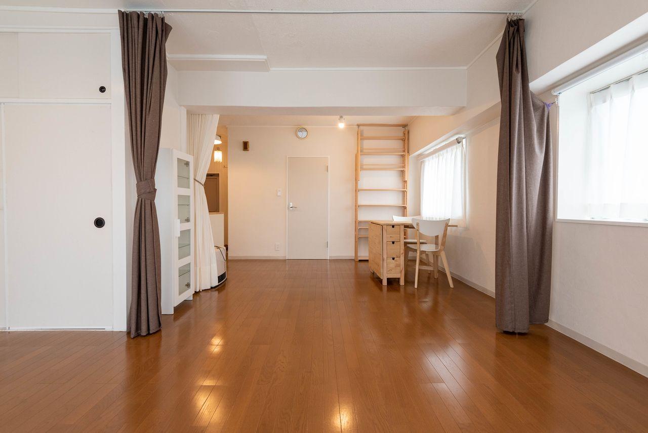 ゆとりの広さのワンルーム ハイネス立川407号室